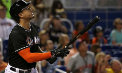 Stanton hits shot so far it fools Statcast; Teammates: '500 (feet) easy'