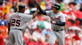 WATCH: Miguel Cabrera hits 400th career home run