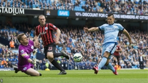 Sergio Aguero: City boss Manuel Pellegrini says striker will not leave